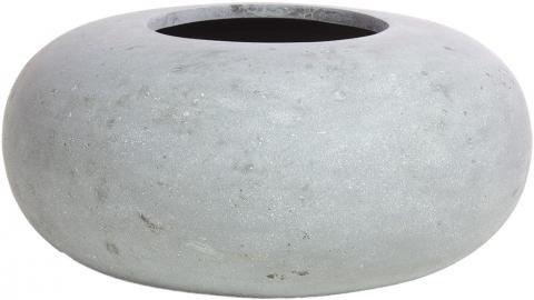 Schale aus Polystone in Donut-From grau online kaufen | pflanzkuebel ...
