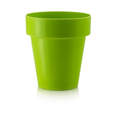 Pflanzkübel grün in einer runden Form und für drinnen und draußen ...