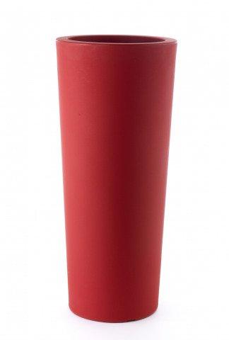 Runder Pflanzkübel rot | pflanzkuebel.shop