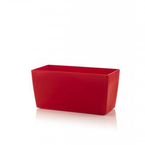 pflanzkasten rot aus hochwertgiem kunststoff hergestellt. Black Bedroom Furniture Sets. Home Design Ideas