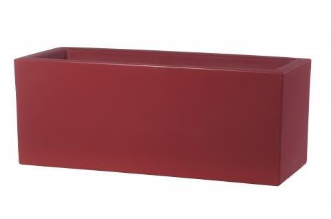 pflanzkasten rot in einer rechteckigen form designt und f r drinnen und drau en erh ltlich. Black Bedroom Furniture Sets. Home Design Ideas